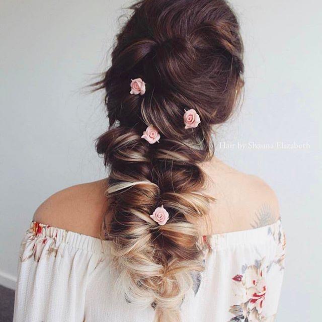 Mermaid Heart Braid   Cute Valentine's Day Hairstyles   Cute Girls Hairstyles