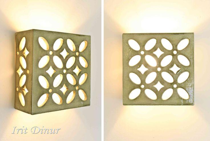 גוף תאורה מקרמיקה- אורן   עירית דינור   מרמלדה מרקט