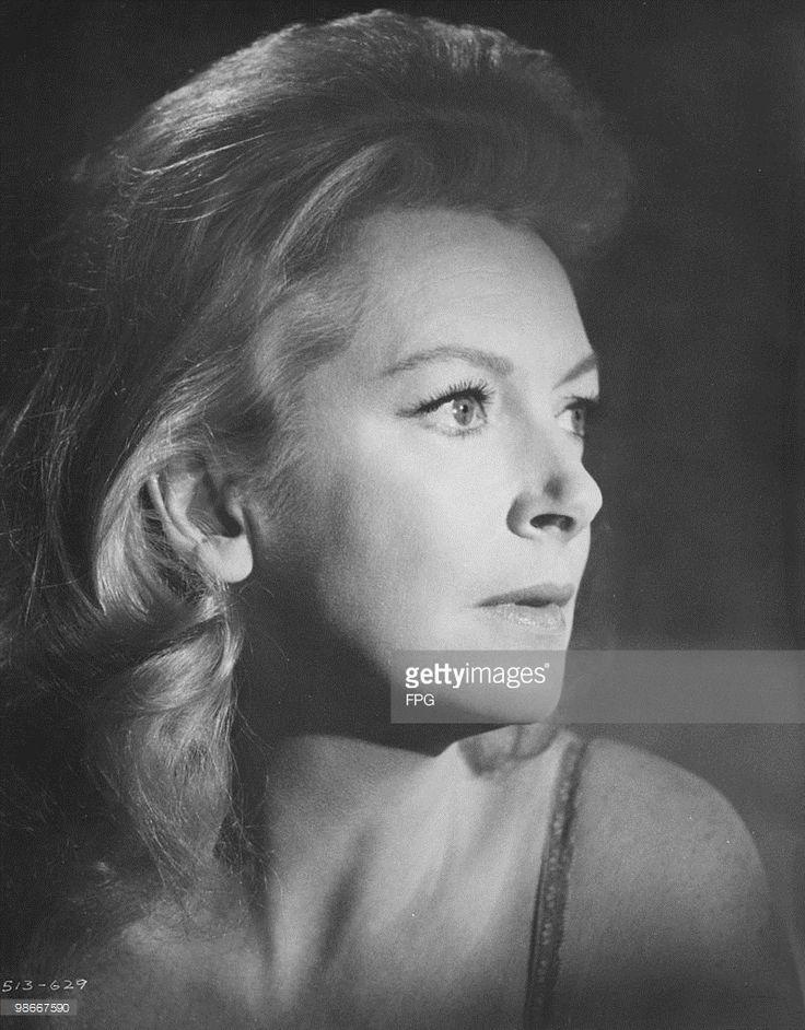 Scottish actress Deborah Kerr (1921 - 2007), circa 1968.