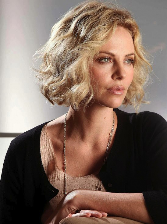 Charlize Theron Short Hair Curled Amp Textured Hair