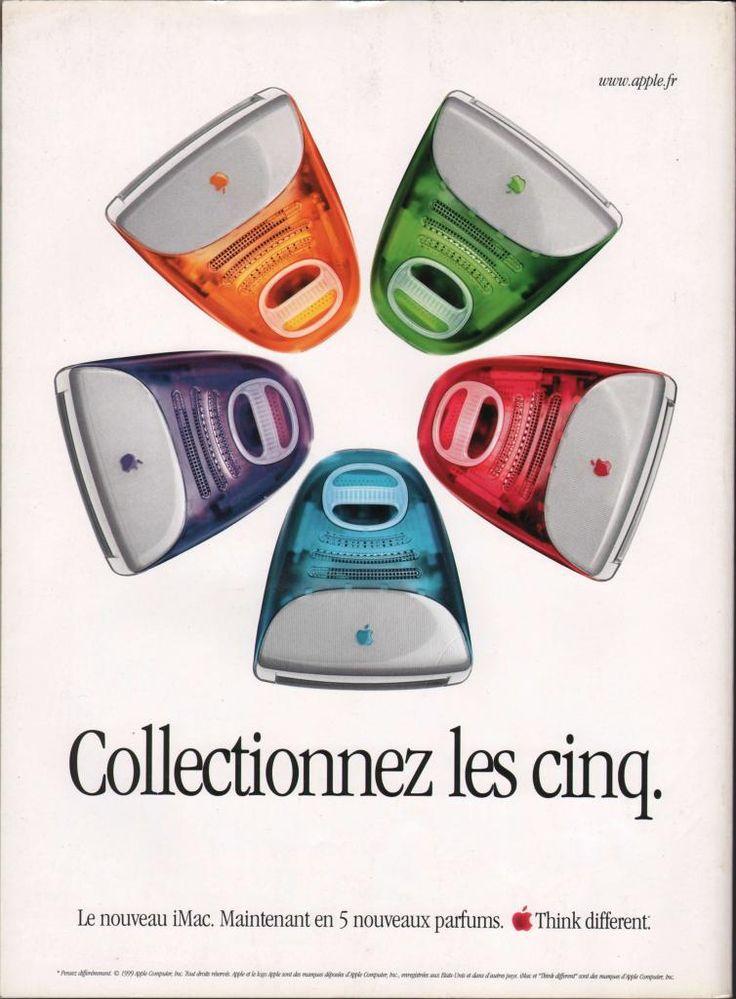 Publicité iMac G3 (GAME ON1)
