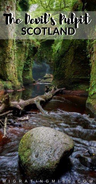 Finding Finnich Glen + The Devils Pulpit, Scotland - Hidden Gems in Scotland, Secret Locations in Scotland, Outlander Film Locations Scotland