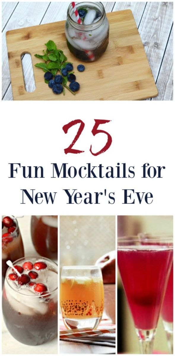 25 Fun Mocktails for New Year's Eve – Couponista Queen ~ Coupons, Deals, Freebies, Frugal Living