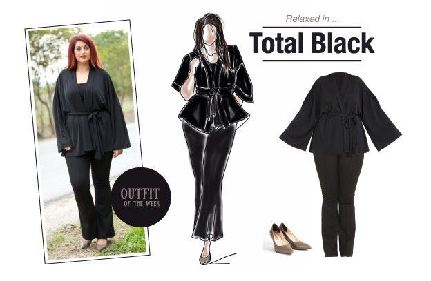 Outfit of the week : Total Black!