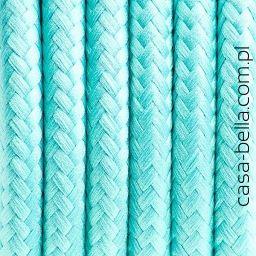 Przewód zasilający Mroźna Mięta od Kolorowe Kable- miętowy kabel - casa-bella - oświetlenie to nasza pasja