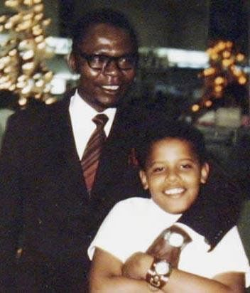 Barack's father, Barack Obama Sr. (1936–1982), was a married Luo Kenyan man from Nyang'oma Kogelo. Obama's parents met in 1960 in a Russian language class at the University of Hawaii at Manoa, where his father was a foreign student on scholarship. Obama's parents divorced in March 1964.Obama Sr. returned to Kenya in 1964, where he married for a third time. He visited his son in Hawaii only once, in 1971,before he was killed in an automobile accident in 1982, when Obama was 21 years old.