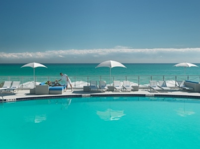 Pool Bar at Eden Roc Hotel, South Beach, Miami
