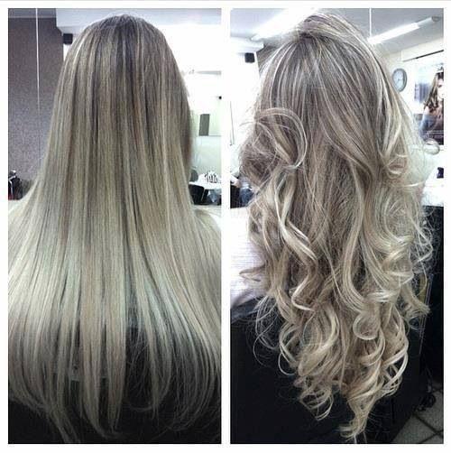 Silver Blond Highlights Hair Pinterest Highlights