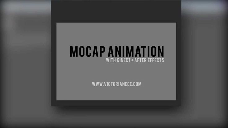 MoCap Animation in After Effects with Kinect -- Part 3: Creating the Pup...