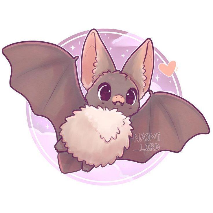 Tener Un Murceguillo De Orejas Grandes Smol Parece Que Va Con El Halloween Dibujos Kawaii Dibujos Kawaii De Animales Animales Kawaii