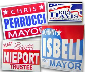 3 Tips for Effective Campaign Sign Marketing
