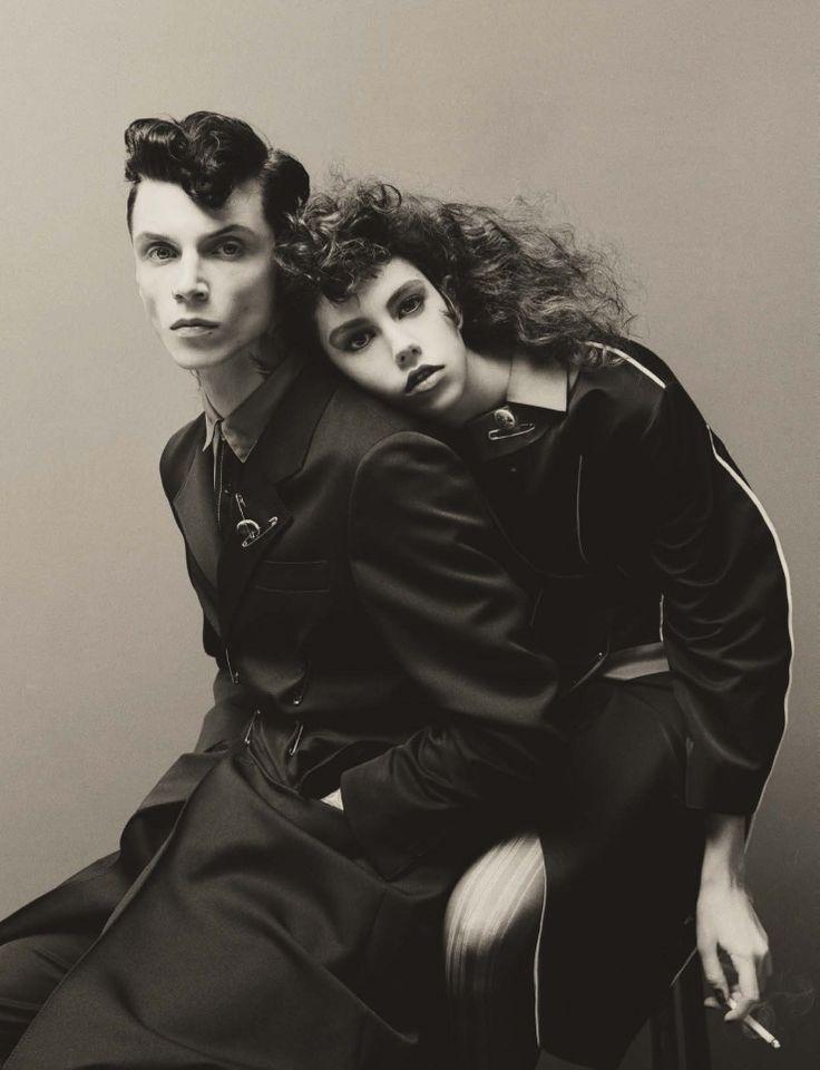 Steven Meisel for Vogue Italia January 2016 15