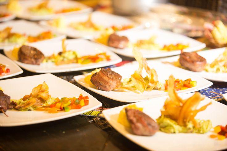 wedding catering. Fotos por iluminarte.