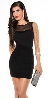 Complementos para vestido negro con lentejuelas