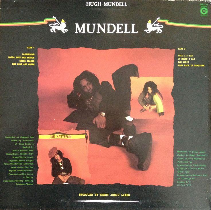 Hugh Mundell - Mundell (back cover)
