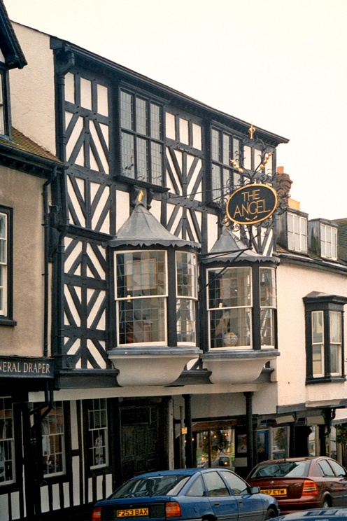 The Angel in Ludlow / Shropshire / UK - photograph by L. Hewitt