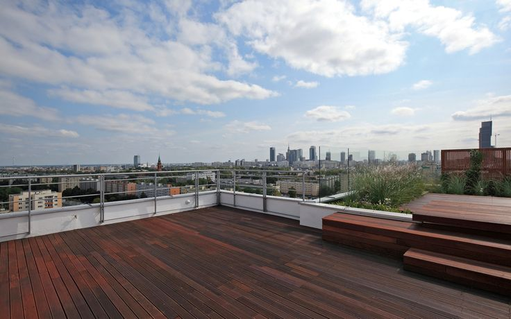 Amazing terrace! #lionsestate #realestate #warsaw #interior #view