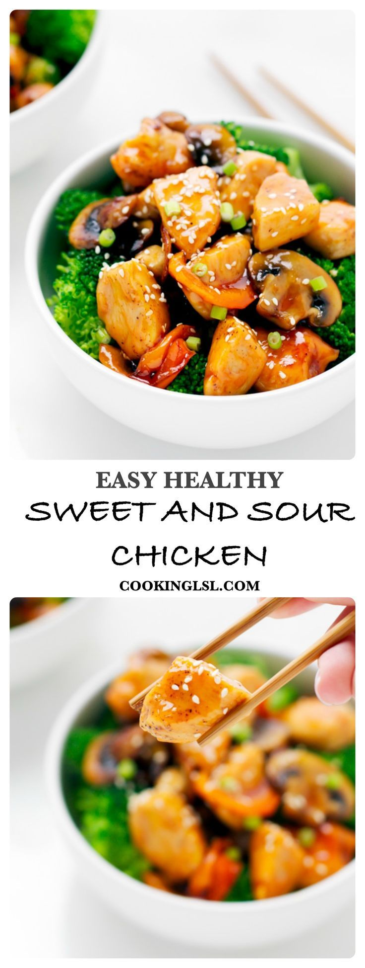 Easy Sweet And Sour Chicken | Recipe | Sweet, Chicken and ...