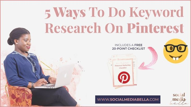 📌 5 Wege, um Pinterest zu tun SEO Keyword Research | Pinterest For Business M …