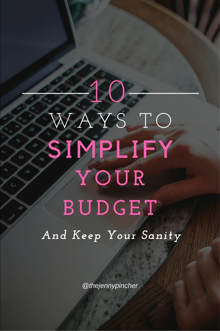 Many people think finances have a knack for becoming complicated. But that's just not true. Your budget can be as simple or as complicated as you make it to be! Making your budget as simple as possible will allow you to get a better handle on your finance