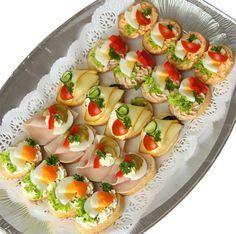 Chlebíčky   Dětské chlebíčky - mísa 20ks   Občerstvení Praha   kanapky, jednohubky, dorty, chlebíčky, pohoštění, catering