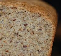 Pão de Aveia e Linhaça - Máquina de Pão