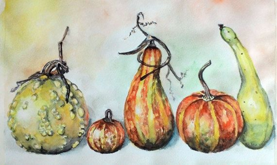 Digital art print Watercolor still life by PaintingByAHeart