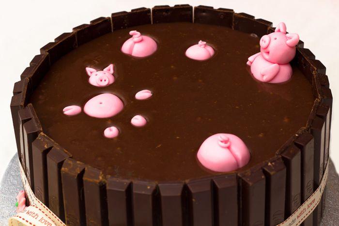 Cake Pigs In Mud Recipe