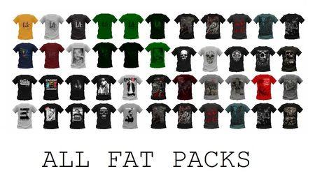 T-shirt HUD ULTIMATE PACK (HUD all versions 2/12/2015) 33 color/textures + ULTIMATE Pack V1.5