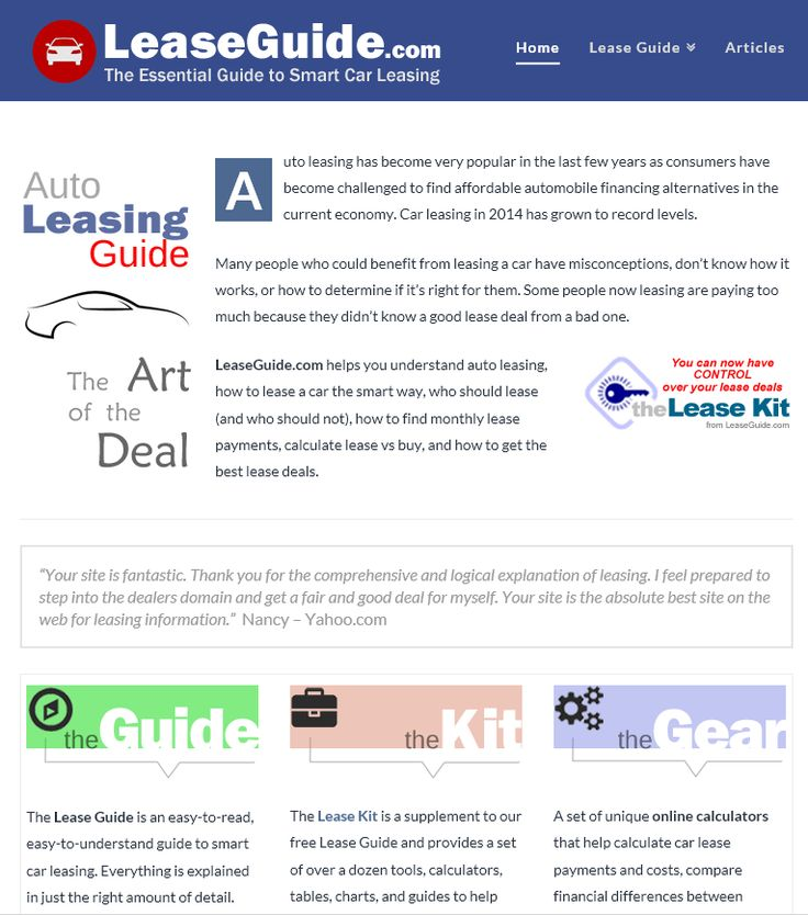 43 best Car Buying and Leasing images on Pinterest Cars, Car - lease payment calculator