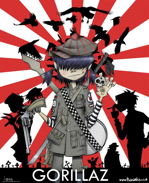 X Murdoc D Russell Noodle Gorillaz Wallpapers And