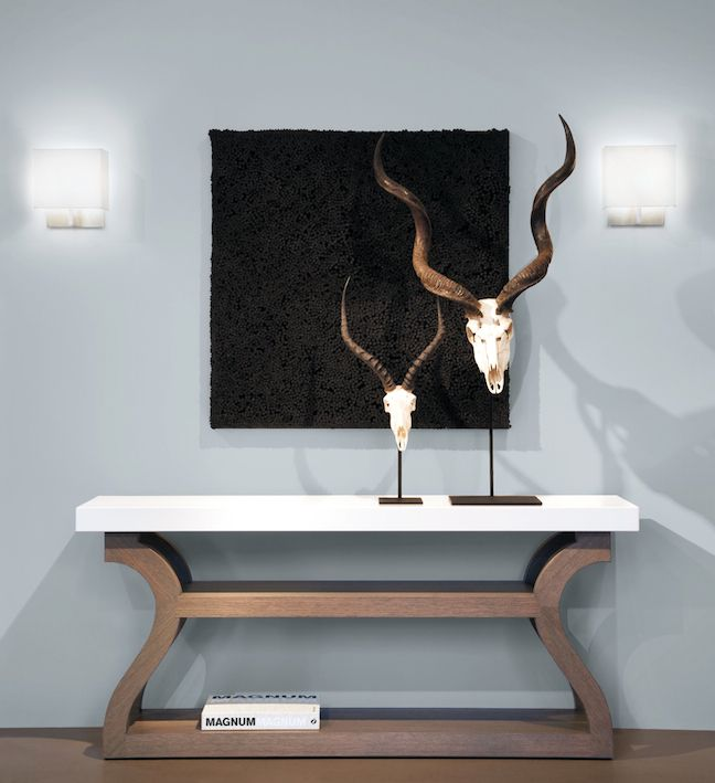 Liaigre - Galion Console, Hussard Sconce