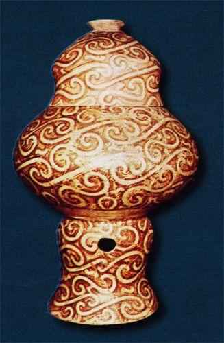 Imagen de http://museum.ici.ro/moldova/iasi/images/istorie/Vas%20suport%20Cultura%20Cucuteni.jpg.