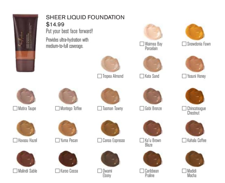 Shea Moisture Foundation