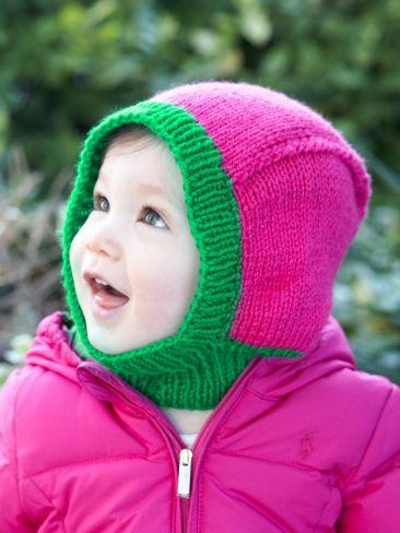 Baby Hood | Free Pattern | Yarnspirations