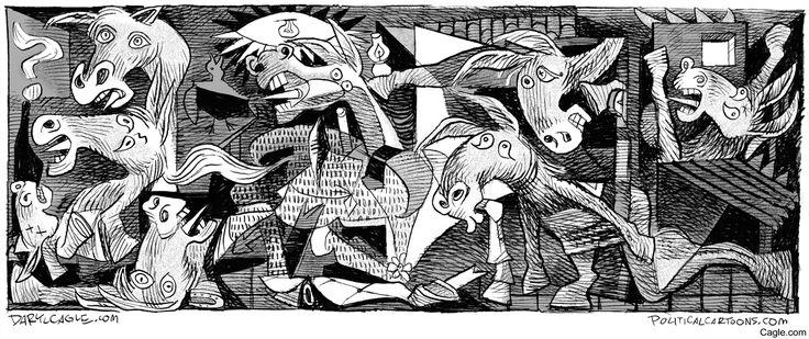 Democrat Guernica