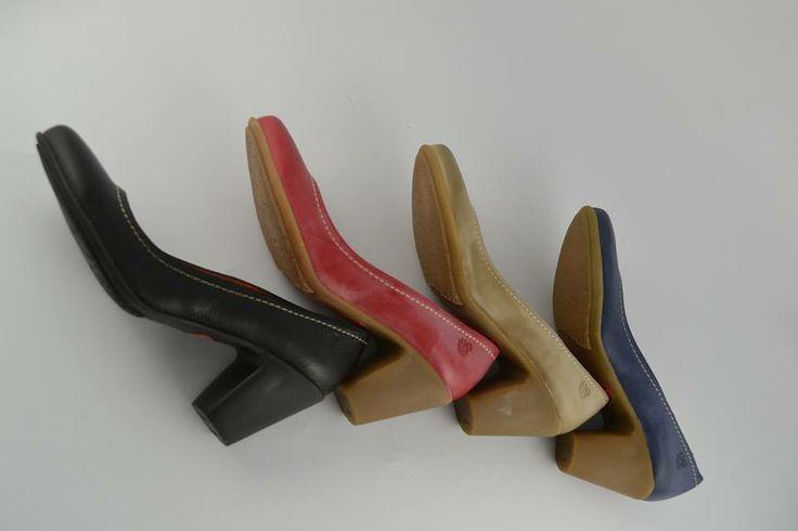 Abanico de colores para los #zapatos de salón de #YOKONO