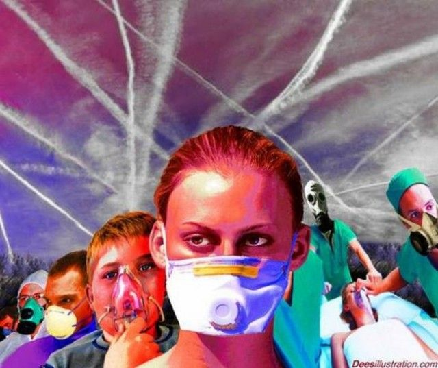 "Chemtrail Flu, NWO Depopulation Weapon :Chemtrails and their subsequent immune suppression is causing the reported ""mystery"" flu for which flu vaccines are ineffective, according to Dr. Len Horowitz,"