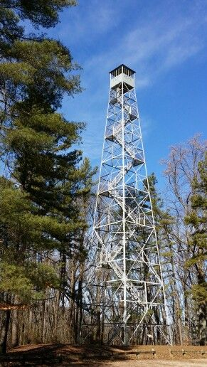 Hickory Ridge Fire Tower - Monroe County Indiana | Midwest ...