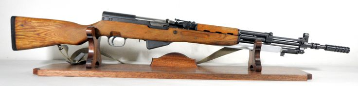 """Yugoslavian SKS 7.62x39 with Wood Stock and Bayonet. The SKS is a semi-automatic carbine chambered for the 7.62x39 round. This Yugoslavian SKS features a wood stock, fold up front and rear sights, compensator, and an 11-inch functioning folding bayonet. All visible serials match. 5-round mag. 24"""" barrel. 9.45 lbs. [Pre-Owned] $499.99"""