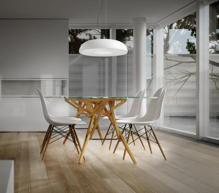 Love This Dining Room Style The Tandem Pendant Light Would Look Great Over A Kitchen