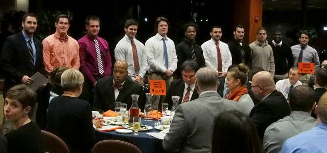 Photo Gallery: 2014 Football Postseason Awards Banquet - Bucknell University