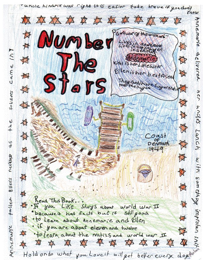 poster+projects+for+number+the+stars | Poster Book Report - NUMBER THE STARS