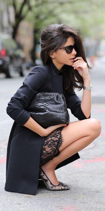 All black | haute inhabit