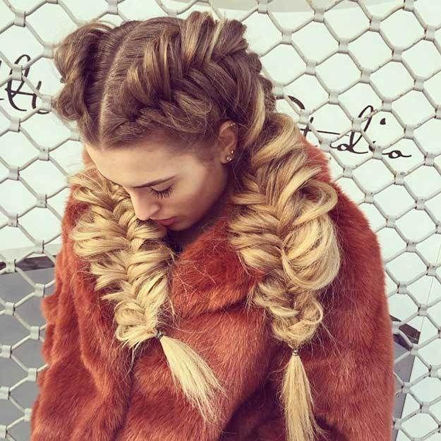Most Chic Braided Hairstyles for Fall - Heidi Braid Crown | Chanel West Coast