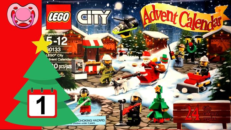 Lego - Natal 2016 - Calendário do advento - 1 de Dezembro