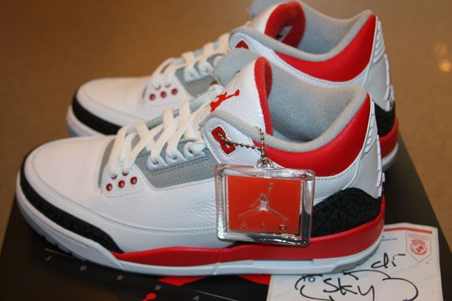 new product 12197 f00ad Air Jordan 3 Retro Fire Red 2