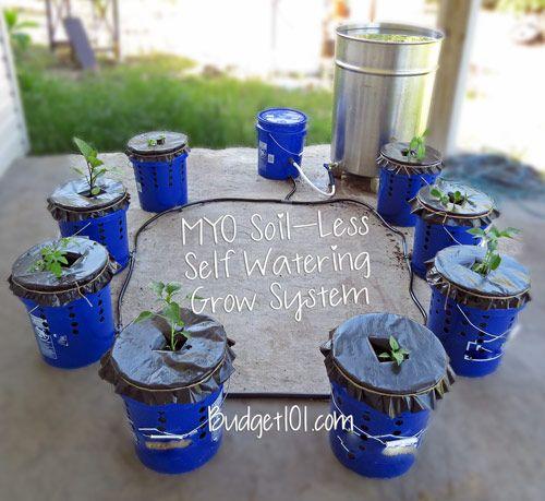 diy hydroponic grow system