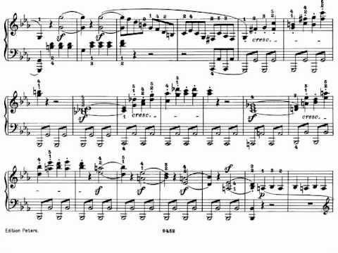 Beethoven sonata pathetique op 13 i grave allegro for 1 piano piano di storia