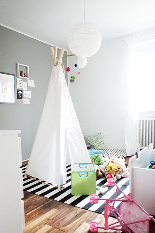 1000 idées sur le thème Tipi Für Kinderzimmer sur Pinterest